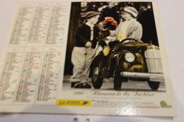 ALMANACH DU FACTEUR Calendrier Des Postes 1998, SOMME, Enfants Jouant Aux Grands  Sur Carton Souple. 2 Photos. - Calendriers