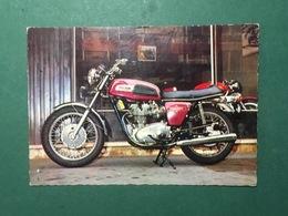 Cartolina Triumph Trident 750 - 3 Cil. 200 Kmh - 1970 Ca. - Cartoline