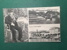 Cartolina Il Comm. Cerboni Nel Suo Giardino - Villa S. Giuseppe - 1930 Ca. - Cartoline