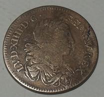 1645 ND - France - Jeton - LOVIS XIIII.DG.F.ET.NAV.REX / ARMIS TVTAE LEGES - Royaux / De Noblesse