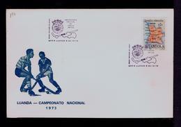 National Championship Hockey Sur Gazon ANGOLA Luanda City Pmk 1973  Portugal Gc4117 - Hockey (Field)