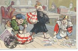 CHINE Carte Postale Humoristique Tientsin 1912 - China