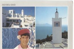 Sidi Bou Said - 3 Photo's On Card - Ed. TL - 515 - Tunisie