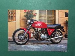 Cartolina Ducati 750 - 2 Cil - 195 Kmh - 1975 Ca. - Cartoline