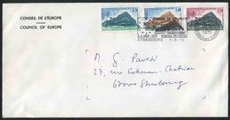 1979 Francia, Lettera Da Strasburgo Consiglio D'Europa - Servizio