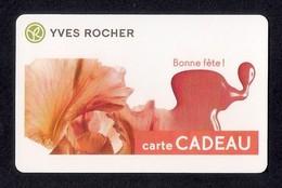 Carte Cadeau  YVES ROCHER.   Bonne Fête - Cartes Cadeaux