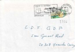 TP N° 2726 Seul  Sur Enveloppe De Granville - Marcophilie (Lettres)