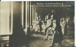 ALLEMAGNE - CARTE PHOTO - BERLIN - Strabenkämpfe - Germany