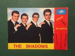 Cartolina The Shadows - Apache F.B.I - Atlantis  - 1970 Ca. - Cartoline