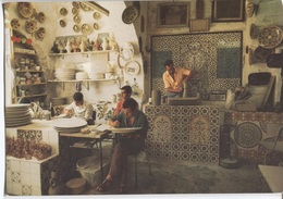 Nabeul - Vue Intérieure D'un Atelier De Poterie  - Ed. H Tanit - 66 - Tunisie