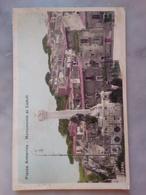 Piazza Armerina Monumento Caduti VIAGGIATA 1947 Francobolli 3 - Enna