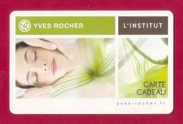 Carte Cadeau  YVES ROCHER - L'INSTITUT.   Gift Card. - Cartes Cadeaux