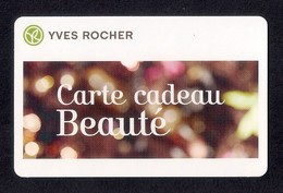 Carte Cadeau YVES ROCHER   Beauté.   Gift Card. - Cartes Cadeaux
