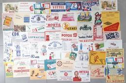 Lot De 60 Buvards Différents - Collections, Lots & Series