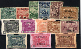 Portugal Nº 182/95. Año 1911 - Nuevos