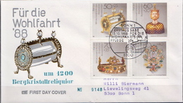 Germany Used FDC From 1988 - Art