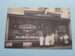 Henri Van RANSBEECK HORLOGERIE Ch. De Gand 13 Molenbeek () Anno 19?? ( Zie/voir Foto 's ) ! - St-Jans-Molenbeek - Molenbeek-St-Jean