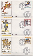 Germany Set On 2 FDCs From 1989 - Post
