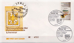 Germany FDC From 1989 - Philatelic Exhibitions