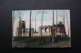 Walhain St Paul - Ruines Du Vieux Château, Circulée Cachet Postal De Walhain St Paul - Walhain