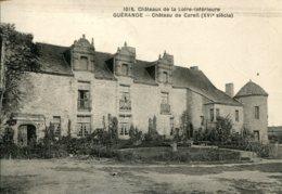 CPA -  GUERANDE - CHATEAU DE CAREIL - Guérande