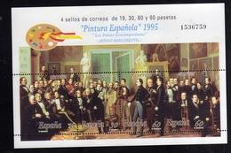 SPAIN ESPAÑA SPAGNA 1995 SPANISH PAINTING PINTURA ESPANOLA BLOCK SHEET BLOCCO FOGLIETTO BLOC FEUILLET MNH - Blocchi & Foglietti