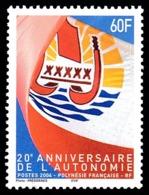 POLYNESIE 2004 - Yv. 722 **   Cote= 6,10 EUR - Autonomie  ..Réf.POL24196 - Neufs