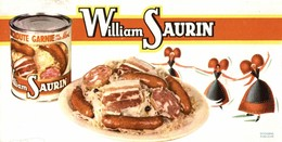 BUVARD WILLIAM SAURIN CHOUCROUTE - Alimentaire