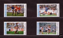 Soccer World Cup 1990 - Footbal - COTE D#IVOIRE - Set MNH - Coupe Du Monde