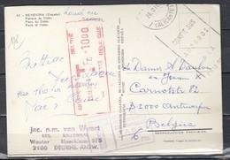 Postkaart Van Benidorm Naar Antwerpen 1 - Covers & Documents