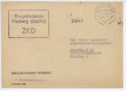 Germany DDR 1964 ZKD Bergakademie Freiberg Mining Academy  H442 - Geologie