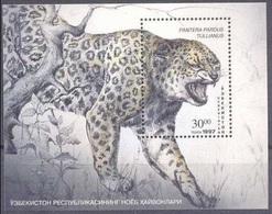 1997Uzbekistan149/B17Cats - Big Cats (cats Of Prey)