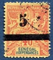Colonie Française, Sénégal N°26 Oblitéré ; Faux Fournier - Oblitérés
