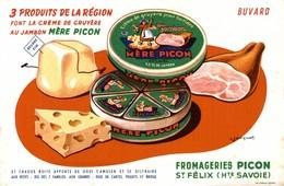 BUVARD MERE PICON SIGNE JACQUET - Produits Laitiers