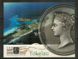 Atoll De Nukunonu,Falefa Resort Hotel. Tokelau Islands,Tropical Coral Atoll.,Bloc-Feuillet Neuf ** Année 2000 - Tokelau