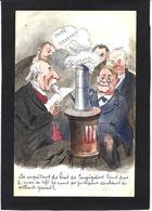 CPA Bobb Satirique Caricature Non Circulé Dessin Original Fait Main Anticlérical Combes - Satirische