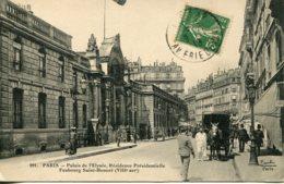 CPA -  PARIS -  PALAIS DE L'ELYSEE - RESIDENCE PRESIDENTIELLE - FBG ST-HONORE  (IMPECCABLE) - Francia