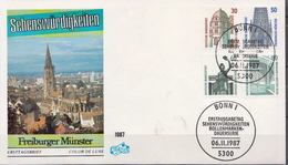 Germany FDC From 1987 - Castles