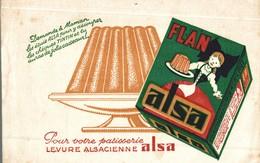BUVARD FLAN ALSA - Produits Laitiers