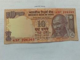 India 10 Rupees Gandhi Banknote 2015 Unc. #2 - India