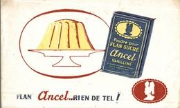 BUVARD FLAN ANCEL - Produits Laitiers