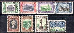 APR2114 - RHODESIA SUD SOUTHERN 1940 ,  Serie Yvert N. 54/61 Usata  (2380A) - Rhodesia Del Sud (...-1964)