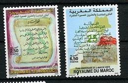 Maroc ** N° 1270/71 -  An. De La Marche Verte - Morocco (1956-...)