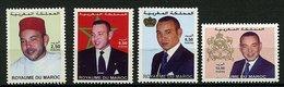 Maroc ** N° 1285 à 1288 - Roi Mohamed VI - Morocco (1956-...)