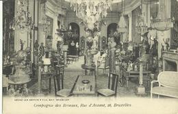 Compagnie Des Bronzes -- Rue D'Assaut, Bruxelles.  ( 2 Scans ) - Petits Métiers