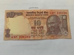 India 10 Rupees Gandhi Banknote 2015 Unc. #3 - India