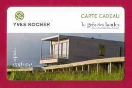 Carte Cadeau  YVES ROCHER   La Grée Des Landes.   Gift Card. - Cartes Cadeaux