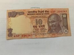 India 10 Rupees Gandhi Banknote 2015 Unc. #4 - India
