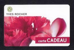 Carte Cadeau  YVES ROCHER.   Gift Card. - Cartes Cadeaux