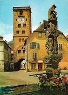 68 Ribeauvillé Tour Des Bouchers Et Fontaine Renaissance (2 Scans) - Ribeauvillé